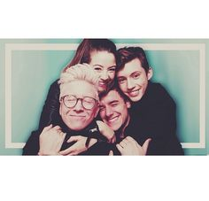 Zoella Sugg, Connor Franta, Troye Sivan and Tyler Oakley some of my faves.