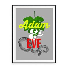Edition of Hand signed by the artist. 12 x giclée print. Printed on Hahnemühle Photo Rag fine art paper, Cotton. Rhyming Slang, Adam And Eve, Fine Art Paper, Giclee Print, Believe, Greeting Cards, Graphic Design, Art Prints, Artist