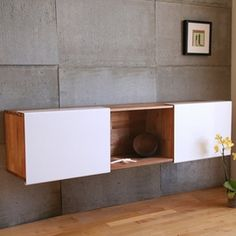LAXseries 3X Wall Mounted Shelf for the dining room or as a TV unit