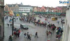 HD Live Cam - Market Square in Bruges