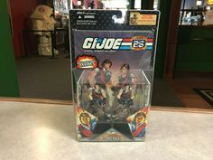 25th Anniversary, Gi Joe, Action Figures, Packing, Store, Cards, Ebay, Bag Packaging, Tent