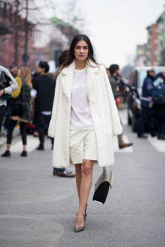 whites on whites // Leila Yavari