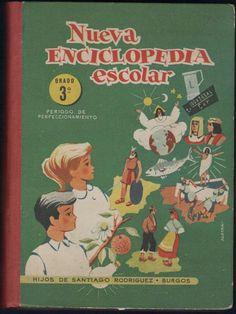 Nueva enciclopedia escolar. Grado 3º. Periodo de perfeccionamiento. Hijos de Santiago Rodríguez-Burgos