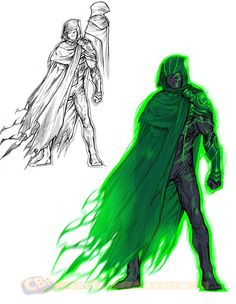 Green Lantern / DC Comics' JUSTICE LEAGUE 3000 - Superhero Character Designs — GeekTyrant
