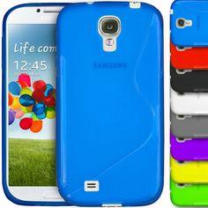 S-Line Case Gel Rubber Skin TPU Wave Back Cover Samsung Galaxy S4 i9500  i9505 21f9153cfc