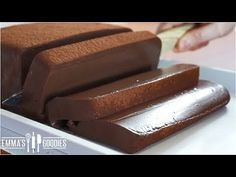 """Chocolate Mousse Cake Recipe, eggless and without oven. Learn how to make this decadent """"chocolate mousse cake"""". Want more Chocolate Recipes? Chocolate Mouse Cake, Tasty Chocolate Cake, Decadent Chocolate, Chocolate Terrine, Chocolate Mousse Recipe, Chocolate Recipes, Flan Cake, Mousse Cake, No Bake Cake"""