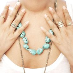 #Get noticed with #A&C Norway #designer #spring #summer #collection #jewellery #statement #necklace #statementnecklace #turquoise #turquoisejewellery #jewelryofinstagram #jewelleryobsessed  Follow us @MerxInc #Merx_inc Bohemian Chic Fashion, Turquoise Jewelry, Summer Collection, Norway, Spring Summer, Style Inspiration, Jewellery, Photo And Video, Instagram