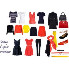 Spring Capsule Wardrobe by amy-s29 on Polyvore