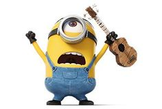 Rock like a #Minion | Minions Movie | In Theaters July 10th