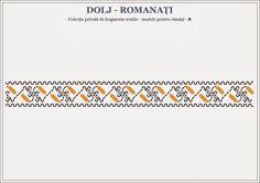 Romanian traditional motifs - OLTENIA, Dolj & Romanati Hama Beads, Beading Patterns, Pixel Art, Cross Stitch, Symbols, Letters, Embroidery, Traditional, Group