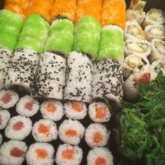 Happy Sushi Takeaway Box. #Enjoy #Food #Art #Asian Lounge #Zwolle Zuid #nomnomnom