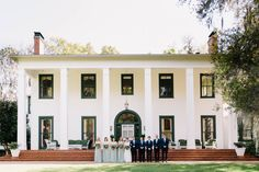 Southwood House Wedding Tallahassee Florida Carolyn Allen Photography