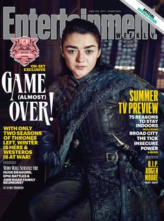 Game of Thrones EW Cover: A Stark Reunion