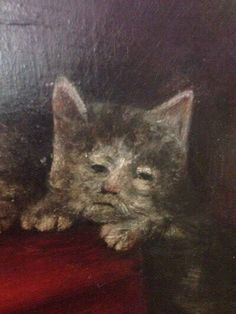 This medieval cat is repulsive and he knows it. 23 Ugly Medieval Cat Paintings That Will Speak To Your Soul Funny Cat Videos, Funny Cats, Funny Animals, Cats Humor, Funny Horses, Humor Videos, Funny Paintings, Cat Paintings, Ugly Cat