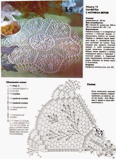 Kira scheme crochet: Scheme crochet no. 261