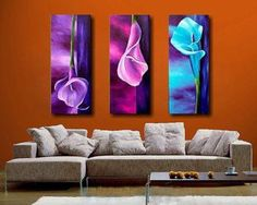abstract lily paintings - Google Search