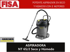 ASPIRADORA NT 65/2 - Potente motor en seco con 2 motores FERRETERIA INDUSTRIAL -FISA S.A.S Carrera 25 # 17 - 64 Teléfono: 201 05 55 www.fisa.com.co/ Twitter:@FISA_Colombia Facebook: Ferreteria Industrial FISA Colombia