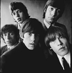"""1965: Alternate cover photo for Rolling Stones' LP """"Out of Our Heads"""""""