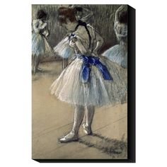 Danseuse, Dancer by Degas Canvas Print (for my daughter's room)