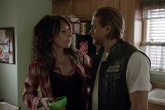 Love this momma Gemma and jax there's nothing like a mother's love for her son fiercely protective xx ♥ ♥ 👍😎💜💜 Soms Of Anarchy, Mothers Love For Her Son, Fx Tv Shows, Mark Boone Junior, Kim Coates, Katey Sagal, Sons Of Anarchy Motorcycles, Tommy Flanagan, Charlie Hunnam Soa