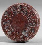 Hittite red stone seal  (Erdinç Bakla archive)