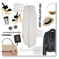 """""""day to night : shirt dress"""" by limass ❤ liked on Polyvore"""