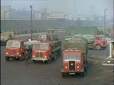 BRS back in the day Vintage Trucks, Old Trucks, Ashok Leyland, Old Lorries, Road Transport, British Rail, Classic Trucks, Classic Cars, Commercial Vehicle