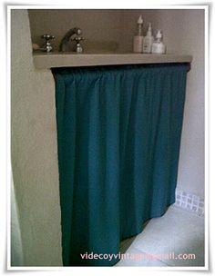 videcoyvintage Deco: Reestrenando Toilette, ahora renovado con lino - parte I