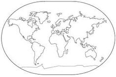 Resultado de imagem para mapa mundi diy
