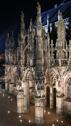 Notre-Dame illuminée
