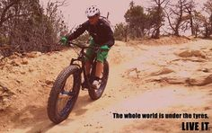 Enjoy every moment with fatbikes. www.marlinbikes.com