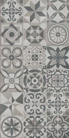 grey spanish tile kitchen - Google Search