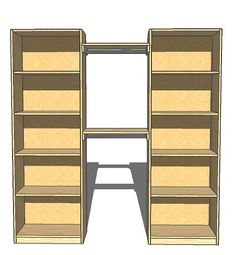 Organizing A Closet With A Diy Closet Organizer