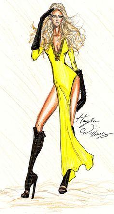 Beyonce Who Run The World draw, girl, fashion art, beyonce, hayden william, fashion illustrations, beyoncé, fashionillustr, fashion sketch