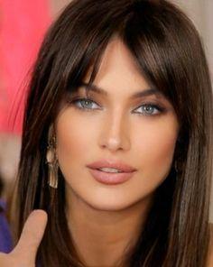 Most Beautiful Eyes, Stunning Eyes, Beautiful Girl Image, Brunette Beauty, Hair Beauty, Pretty Eyes, Woman Face, Dark Hair, Beauty Women