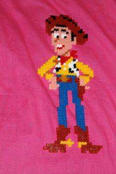 Woody Toy Story hama beads by nanane555