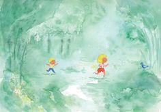 La Reine des Truites, Sandrine Bonini & Alice Bohl, Grasset-Jeunesse Ismaël & Suzanne