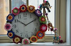 "Beautiful ""Clock"" from Diaper Mum."