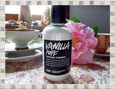 LUSH Vanilla Puff Dusting Real Vanilla Pod in Powder Jasmine 55g Vegan 24/Jun/17 #LUSH