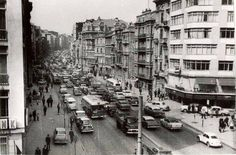 Halaskargazi cad, 1965 Istanbul City, Istanbul Turkey, Ottoman Empire, Good Old, Once Upon A Time, Street View, Black And White, Pictures, Times