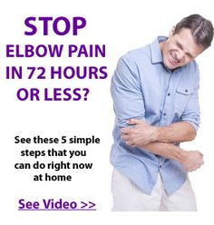 Pain Remedies It's bad enough to get injured but if you're like me you automatically think dollar signs and time off or away from the activities that you enjoy most. Then there are the medical costs … Elbow Pain, Headache Relief, Pain Relief, Tennis Elbow Relief, Tennis Elbow Exercises, Tendinitis Elbow, Tennis Arm, Natural Headache Remedies, Physical Therapy