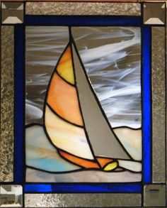 stained glass sailboat patterns - Google Search