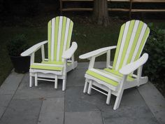 painted adirondack chairs | Painted Adirondack Chairs