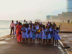 School kids in Colombo, Sri Lanka