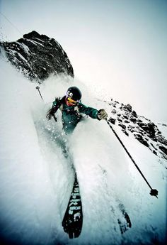adventure....? mmm... probably not for me!    Can't wait for ski season!