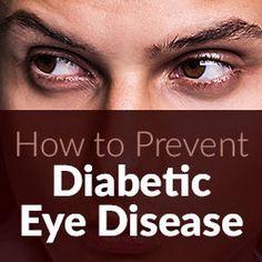 How to Prevent Diabetic Eye Disease
