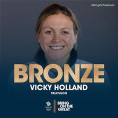 BRONZE MEDAL for Vicky Holland!!! Amazing work!! Gutsy performance from Non Stanford who was with her all the way  #Triathlon #Rio2016 #BringOnTheGreat