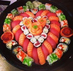 Heart sushi. ❤️