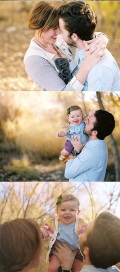 Ideas for posing family portraits... its not posed...that is the beauty of it!