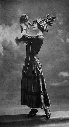 Les Modes (Paris) 1914 Robe d'apres-midi par Premet